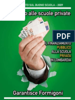 Dote Scuola Lombardia 2009