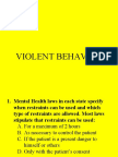 06. Violent Behavior