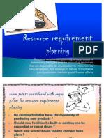 Resource requirement Planning (1)