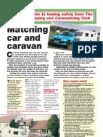 Matching Car and Caravan