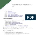 Installation Guide - WAMP
