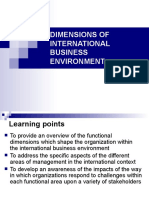 dimensions of international business