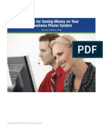 Five Tips for Saving Money on Your Business Phone System