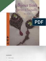 Bijoux tisse perles a l'aiguille 2ª edicion