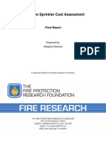 Fire Sprinkler Cost Assessment