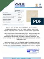Crema Marfil Informe Tecnico - SEVIMAR