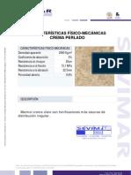 Crema Perlado Informe Tecnico - Sevimar