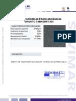 Granito Darkgrey G654 Informe Tecnico - Sevimar