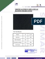 Granito Negro G684 Otto Informe Tecnico - SEVIMAR