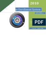 User's Manual College Enrollment System