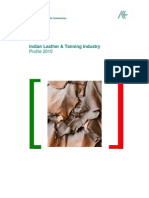 Indian Leather & Tanning Industry Profile 2010