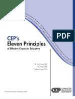20110113 Eleven Principles