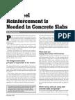 Why Steel Reinforcement is Needed in Concrete Slabs
