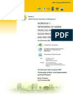 Proceedings of the Workshop on Networking of Marine Protected Areas