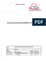 Environmental Responsibilities Procedure