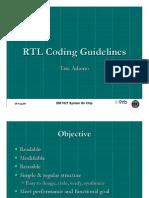 RTL CodingGuide