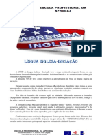 LINGUA INGLESA-INICIAÇAO