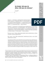 200 Anos de Brasil, De APU e de Estado - Frederico Lustosa