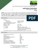 Urethane Elastomer (BC8860 Urethane) Technical Datasheet