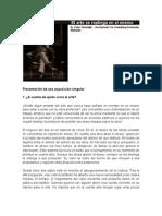 17468319 Sloterdijk Peter El Arte Se Repliega en Si Mismo
