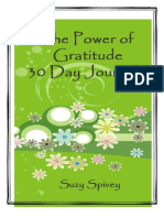The Power of Gratitude 30 Day Journal