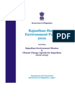 Environment_policy of Rajasthan