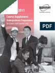 Undergraduate Course Supplement Degree_Jan 2011_12Oct2010