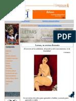 Revista Letras Abril-2011