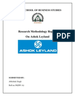 Abhshek Singh Report on Ashok Leyland Final 22222222222222222222