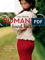Free Pattern - Sweetheart Neckline Corset from Romantic Hand Knits by Annie Modesitt