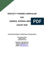2009 GIM Curriculum