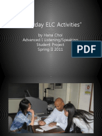 Everyday ELC Activities by Hana Choi
