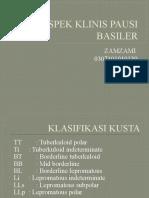 Aspek Klinis Pausi Basiler