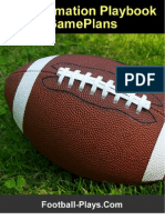Pro Formation Playbook Gameplans