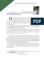 As Bibliotecas Públicas Municipais e a Administração Pública Direta - Claudiomiro Machado Ferreira