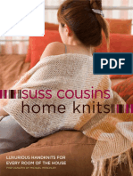 Free Pattern - Basketweave Pillow from Home Knits by Suss Cousins