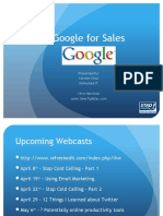 Using Google for Sales And Marketing
