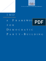 A Framework for Democratic Party-Building Handbook