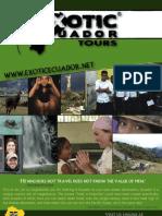 Exotic Ecuador Brochure