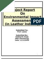 Environmental Impact Assessment Report