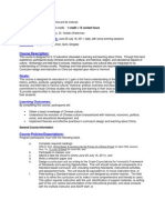 Institute:China & It's Culture - EDSS 295 TR1 - Course Syllabus or Other Course-Related Document