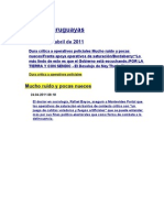 Noticias uruguayas 25 abril 2011