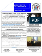 Veterans Newsletter March 2011