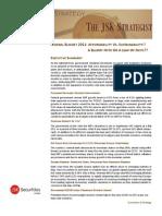 The JSK Strategist (June 2010) Afford Ability vs. Sustanability!!