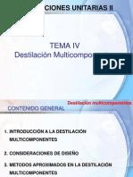 Destilación multicomponentes (Sección B)