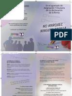 """IRPF 2010 - NO MARQUES LA CASILLA """"A LA IGLESIA CATÓLICA"""""""