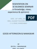 Enterprise Business Seminar