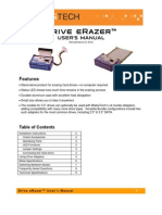 Drive eRazer User Manual Rev3!15!2010