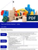 Toys and Games Market in India 2010 Sample