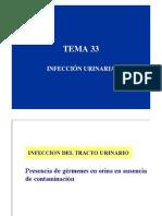 TEMA 33 Infección urinaria